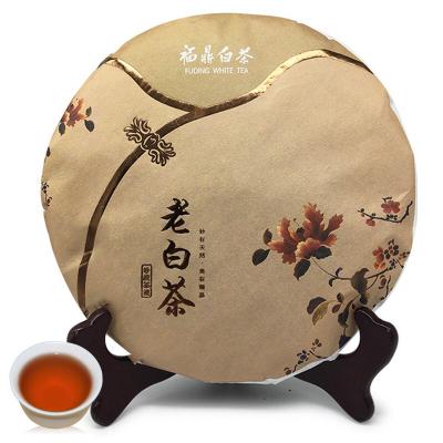 2010年福鼎白茶老贡眉饼高山老白茶饼陈年枣香茶叶350g