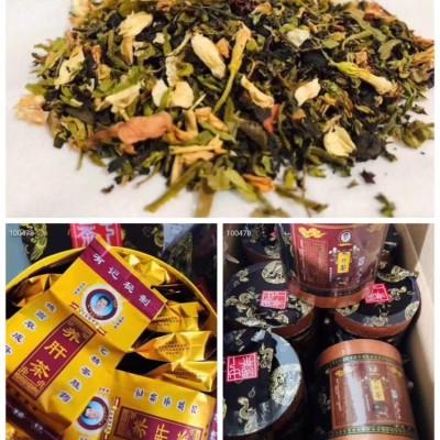 有记养肝茶✨一桶60小包,一桶包邮,一小包5克是由仙甘藤,白鹤灵芝草