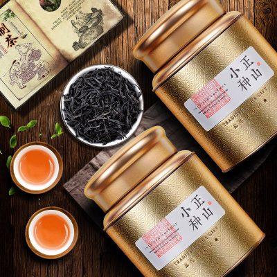 新茶正山小种红茶耐泡礼盒装茶叶高山桐木关古树野生花香250g