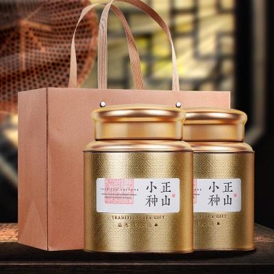 新茶武夷红茶桐木关古树野生花香野茶正山小种铁管礼盒装250g
