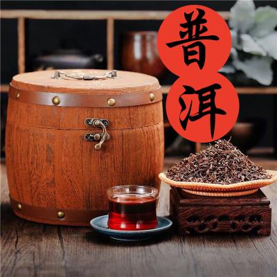 云南珍藏普洱茶叶熟茶散茶特级宫廷勐海陈年普洱茶散装500g
