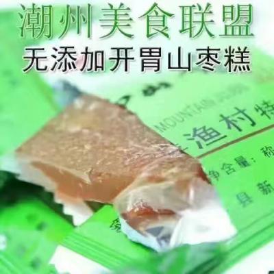 山枣糕是广东潮汕地区的传统名点[玫瑰]山枣糕色泽金黄澄亮,食之有原果风