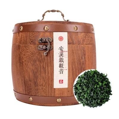 新茶兰花香铁观音高档礼盒木桶装500g