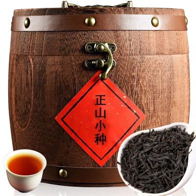 新茶武夷山正山小种 茶叶红茶 红茶茶叶 木桶装500克