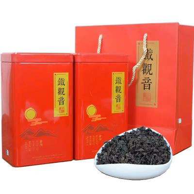 安溪炭焙铁观音茶叶炭烧口味浓香型碳培乌龙茶烘焙碳烤陈年老熟茶