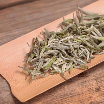 福鼎白茶2019新茶白毫银针散茶特级茶叶头采银针芽500g罐装
