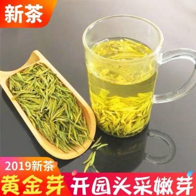 安吉白茶黄金芽明前特级 2019春茶新茶50g罐装浙江正宗珍稀绿茶叶包