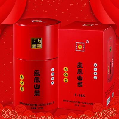 凤凰山老树茶 凤凰单枞 杏仁香 方圆一品F-985 圆形罐装150g
