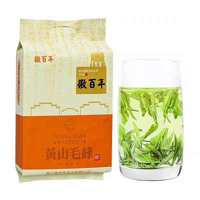 正宗特级黄山毛峰核心产区安徽绿茶茶叶毛尖茶600g新茶叶