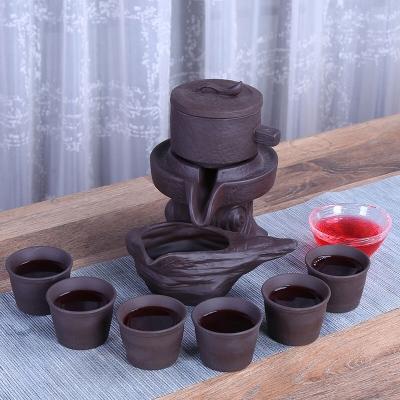 (38节日活动价)新款茶具 半自助冲茶茶具 配六个杯子 三套送一套