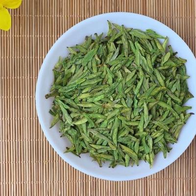 明前龙井新茶 豆香味十足回甘好 特级品质500克礼盒装包邮