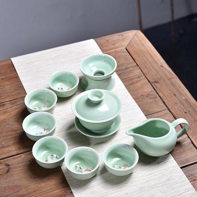 十头鱼茶具 安全包装