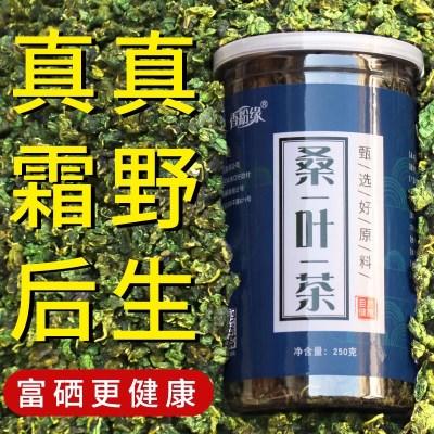桑叶茶正品冻干霜后桑叶120克到500克罐装纯非特级天然养生茶包邮