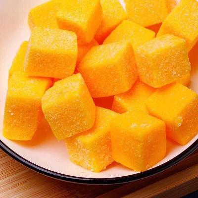 芒果糖软糖点心糕点小零食 网红散装手工果汁休闲食品 500克 买三送一