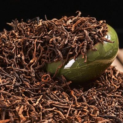 云南普洱茶熟茶散茶普洱茶熟茶金芽醇香散熟茶500g促销装 三斤送一斤