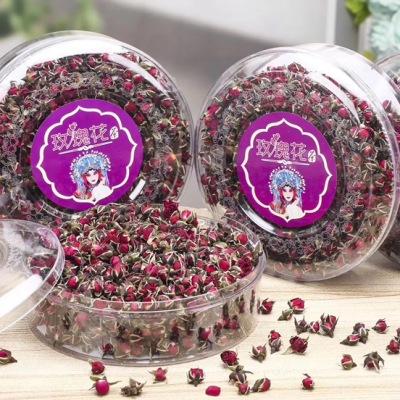 两罐金边玫瑰花茶干玫瑰平阴玫瑰花茶花草茶花茶茶叶罐装美容养颜500g