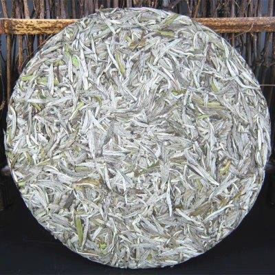 福鼎白茶春茶雨前白毫银针私藏特级陈年茶饼300g茶叶一片