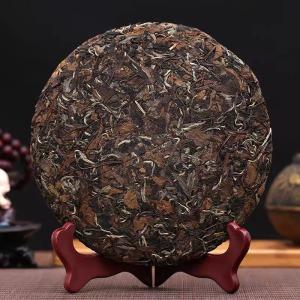 福鼎白茶陈年老白茶寿眉白牡丹太姥山茶叶高山原料5年春茶