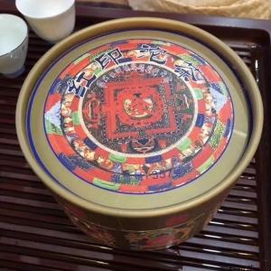 中茶九面佛 2007年吉幸牌 红印沱茶 8621沱茶生茶 班章布朗山原