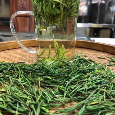安吉白茶2021年新茶500g正宗雨前春茶白茶茶叶安吉散装绿茶