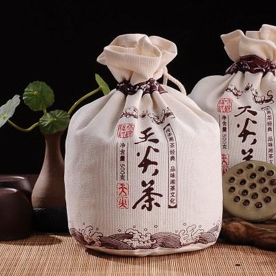 【黑茶天尖】湖南安化黑茶天尖茶叶布袋装500g黑茶散茶叶正宗黑茶