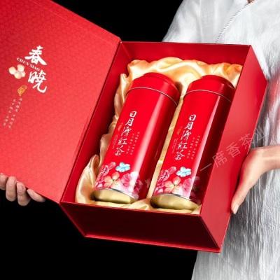 台湾日月潭红玉红茶天然薄荷味200g原装进口