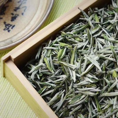 【2020•极品毛峰】高山明前采摘,芽头嫩绿肥壮茶叶白毫显露