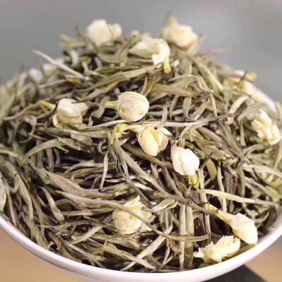 茉莉针王】精选优质春茶茶坯,以茉莉鲜花窖制而成,五窖一提工艺