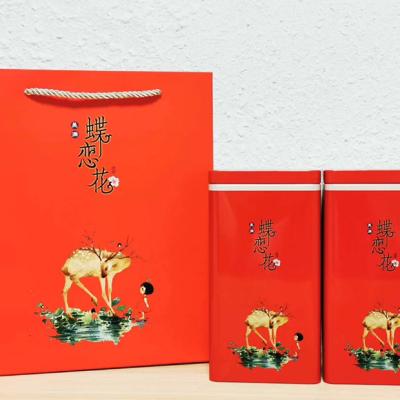 2021年新茶上市特级金骏眉红茶黄芽金芽红茶500g克武夷山茶叶礼盒装