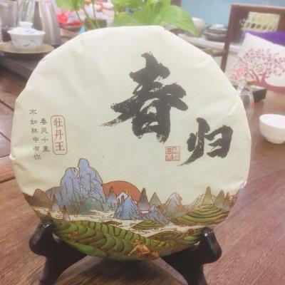 2019年春芽 高级白牡丹 正宗原产地 含芽量高 滋味清爽300克/饼