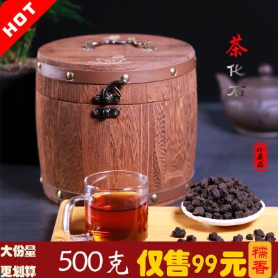 普洱茶 茶化石糯香 碎银子 糯米香 特级 熟茶金不换 布朗山古树茶