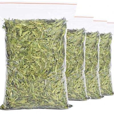 2020杭州西施大龙湖龙井茶雨前绿茶新茶豆叶香明前嫩芽散装口粮茶