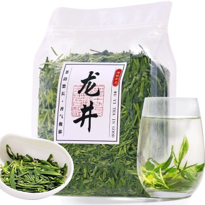 2020年西湖产区明前龙井茶叶绿茶龙井茶新茶杭州春茶散装茶叶批发
