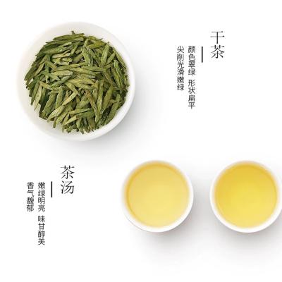 杭州明前龙井茶2020新茶特级豆香型春茶精品龙井绿茶礼盒装茶叶500g