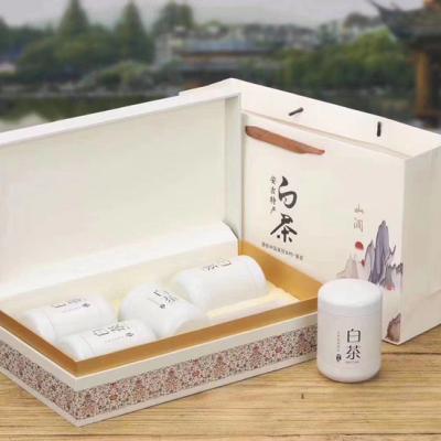 安吉正宗白茶2020年新绿茶春茶特级250g高档礼盒装明前原产地茶叶