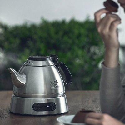 吉谷电水壶  塔TA008 泡茶专用壶 进口温控器304不锈钢自动烧水