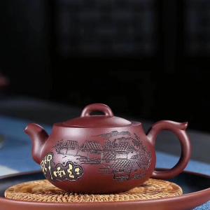 国家级工艺美术师吴德荣原矿手工紫砂壶『江南水乡』