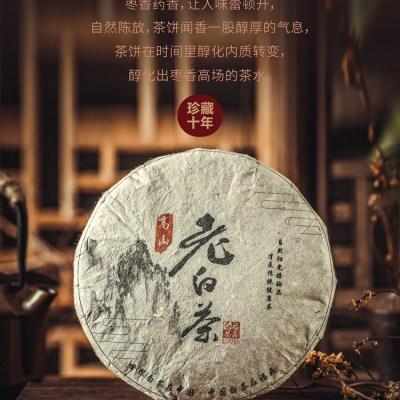 福鼎高山白茶  老白茶  2008年寿眉饼