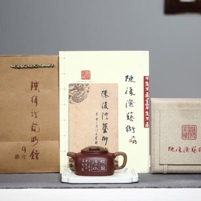 佳作鉴藏✊【牛盖德钟】🔥泥料:家藏原矿紫泥 .260cc