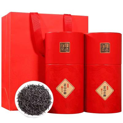 新茶正山小种红茶 特级茶叶散装浓香型 桐木关野茶养胃茶罐装500g