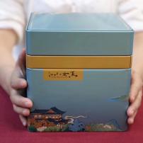 福鼎白茶2020头采荒野银针,一盒一斤装,毫香蜜韵。
