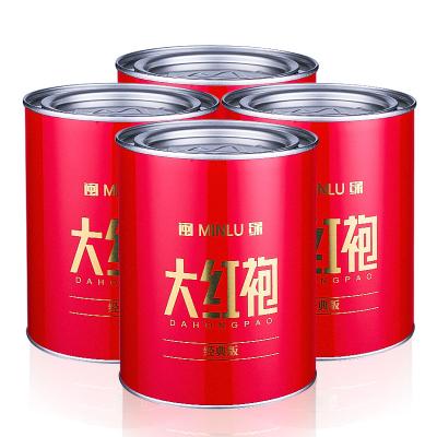 2020年新茶大红袍茶叶礼盒武夷山茶叶乌龙茶4罐装400g