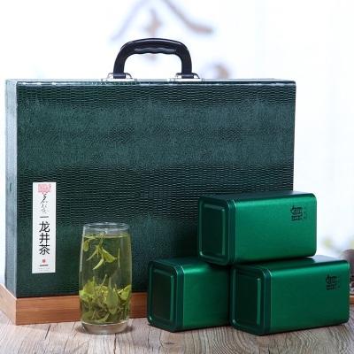 2020五一送礼礼品礼物茶新茶龙井茶叶明前绿茶高档礼盒装新茶500g