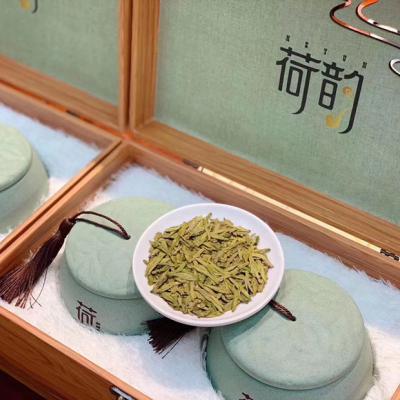 2021新茶春茶明前龙井绿茶高档陶瓷罐礼盒装散装嫩芽特级龙井500g