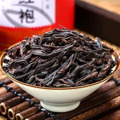 【买1发4】大红袍茶叶新茶武夷岩茶浓香型散装肉桂乌龙茶礼盒罐装
