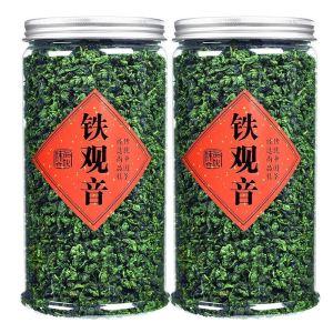2020新茶铁观音茶叶浓香型高山乌龙茶兰花香散装罐装500g批发