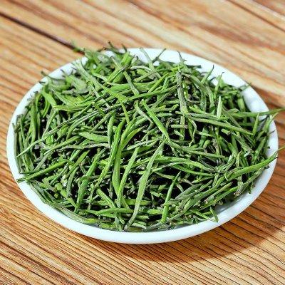 明前雀舌绿茶茶叶 新茶嫩芽梨香雀舌早春新茶500g新茶罐子包装散装茶