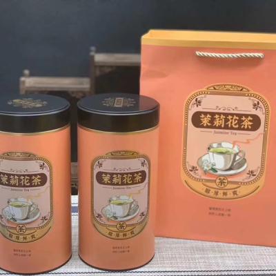 2020新茶茉莉飘雪特级花茶茉莉浓香型茶叶四川单芽500g礼盒装全芽尖