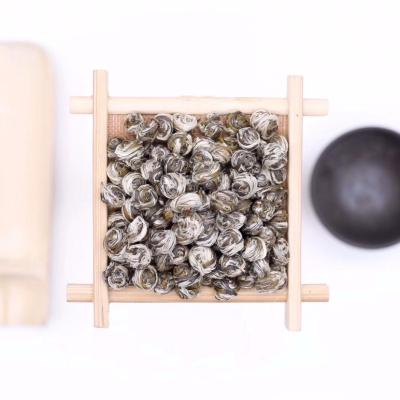 【福鼎小龙珠】新茶茉莉花茶叶全单芽特级浓香型茉莉龙珠绣球花草茶福鼎白茶
