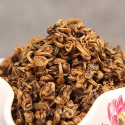 黄金螺500g装 滇红茶 红茶单芽茶云南凤庆